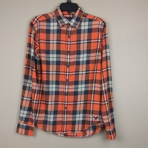 American Eagle classic fit flannel.